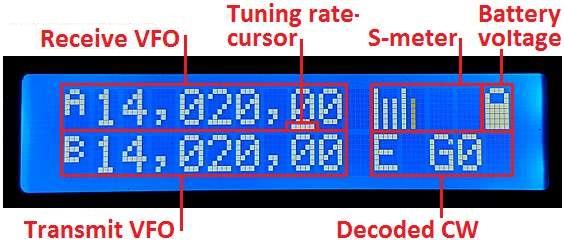 5W CW transceiver kit