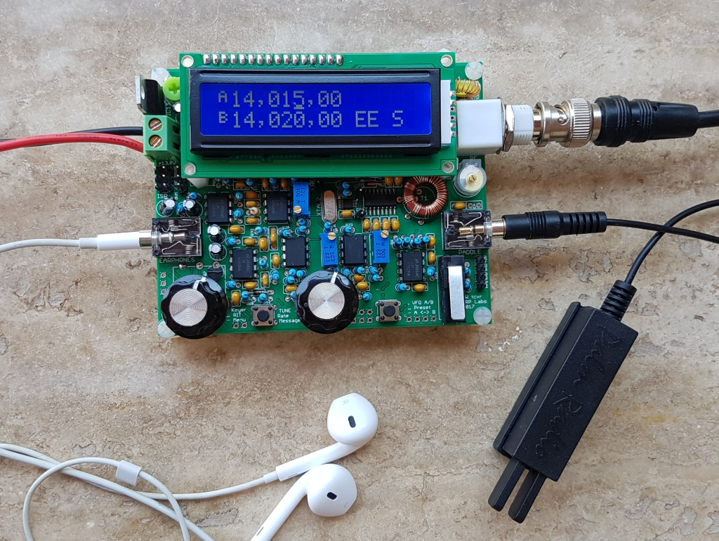 5W CW transceiver kit