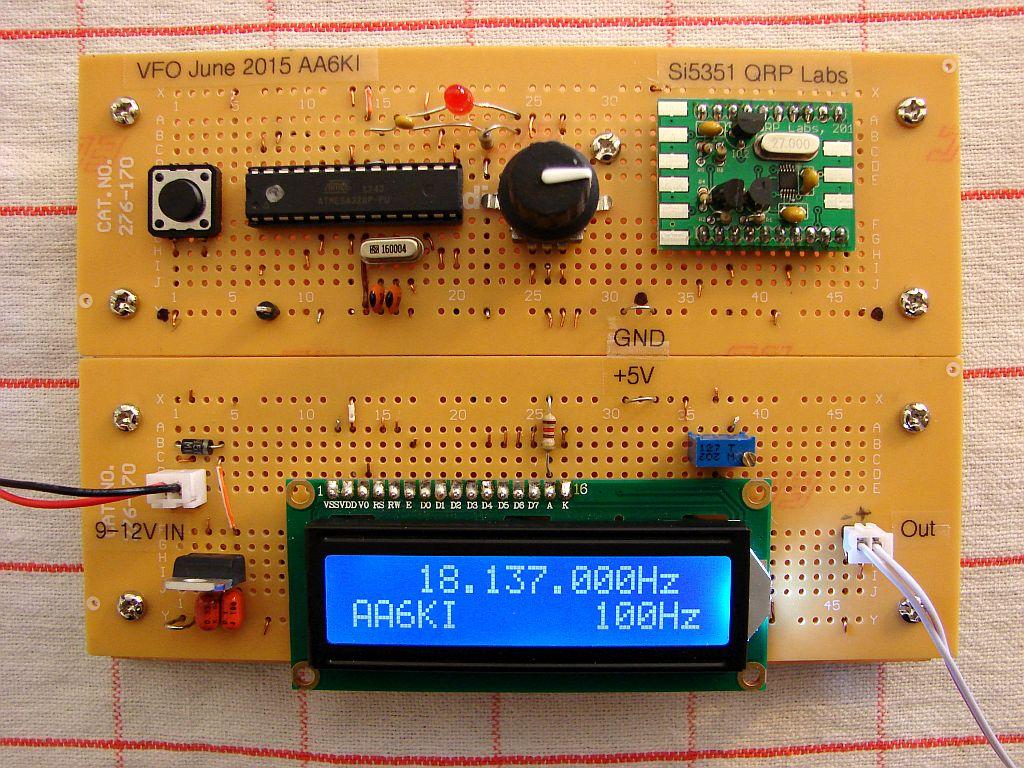 Arduino Vfo Kit