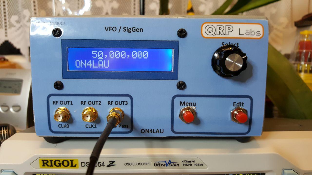 Si5351A VFO/SigGen